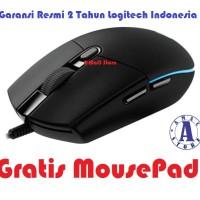 Logitech Prodigy G102 Gaming Mouse Bonus Mousepad - Garansi Resmi