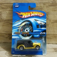 HOT WHEELS 40s Woody GOLD PIN HEDZ 2 OF 5 COLLECTOR NO 092