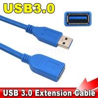 KABEL USB 3.0 EXTENSION 1.5M (PERPANJANGAN USB) / USB 3.0 MALE FEMALE