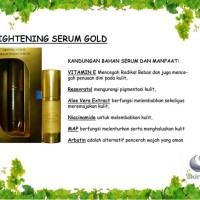 "Serum NANO bright & glowing gold ""SKIN SOLUTION"""