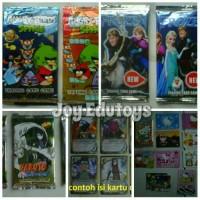 Trading Card Game Kartu Angry Bird Frozen Naruto HK Doraemon