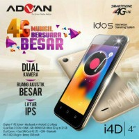 MURAH!!! HP Android Advan i4D LTE 4G