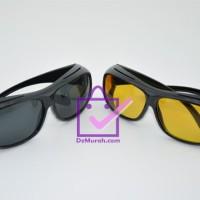 Jual Kacamata Anti Silau / HD Vision 1 Box isi 2 pcs Murah