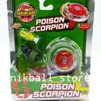 Jual TORBLADE POISON SCORPION RED / TOR BLADE Murah