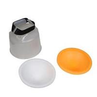 P4 Lambency Flash Diffuser w/ Dome Cover for Canon 550EX / 580EX - Tra