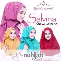 Jual Shawl Instan Salvina by Nuhijab / Pashmina Instan / Hijab / Kerudung Murah