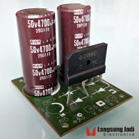 Kit PSU LJ-006B 4700uF 50V GSIB660 untuk LM3886 gainclone power supply