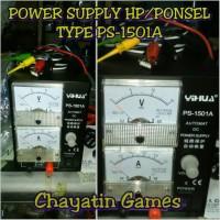 POWER SUPPLY HP MERK YIHUA TYPE PS-1501A (MANUAL/ANALOG)