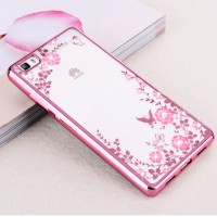 Softcase DIAMOND Huawei P8 Lite ALE-L21 Casing Case HP Cover Silicone