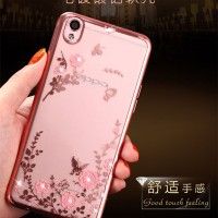 Softcase DIAMOND Oppo Mirror 5 A51 Casing Case HP Cover Silicone Thin