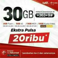 TELKOMSEL KUOTA 30 GB | KARTU PERDANA SIMPATI INTERNET KUOTA 30GB