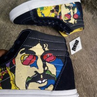 Vans Sk8 Skate High Hi The Beatles Yellow Submarine Waffle ICC Premium