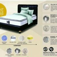 spring bed airland maggio 1set divan sandaran sss 160 x 200