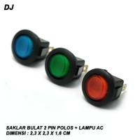 Harga saklar bulat 2 pin polos lampu ac sw 01ac   antitipu.com