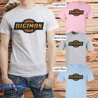 Baju kaos T-shirt anime manga kartun Digimon 01