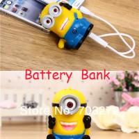 Jual Power bank 3D Hello Kitty Minion powerbank 3600mah smar Murah Murah