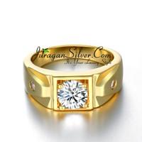 Jual Cincin Couple, Pasangan, Perak, Palladium, Emas, Nikah, Tunangan 726 Murah