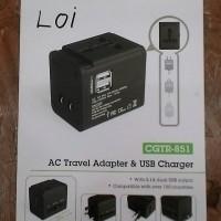 AC TTEVEL ADAPTER & USB CHARGER AVANTRE