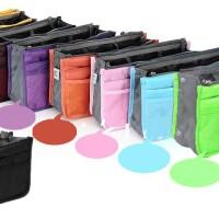 Jual Tas Organizer Bag in Bag Pouch Tas dalam Tas Korea Dual Bag Murah