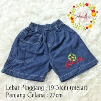 Celana Pendek Anak Jeans Denim Good Shot