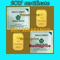 Jual 2 Gram Emas ANTAM | logam mulia | BERSERTIFIKAT | FINE GOLD 999,9%| Murah