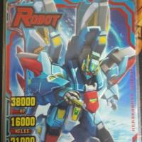 kartu hero of robots vanguard zero. ori mesin top 100 limited.