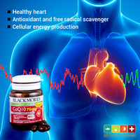 Blackmores CoQ10 75mg 30 Cps Vitamin Suplemen Kesehatan Jantung BPOM