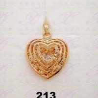 Yaxiya (anting gelang kalung) liontin perhiasan imitasai gold 18k