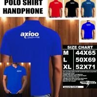 Polo Shirt Gadget/Hp AXIOO Picophone M1 FONT/Kaos Kerah/Baju Kerah