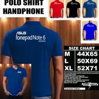 Polo Shirt Gadget/Hp ASUS fonepad note 6 ME560CG FONT/Kaos Kerah/Baju