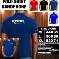 Polo Shirt Gadget/Hp AXIOO Picophone M4 FONT/Kaos Kerah/Baju Kerah