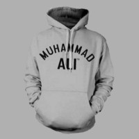 HOODIE MUHAMMAD ALI DESIGN T SHIRT SWEATER HOODIES DISTRO PRIA