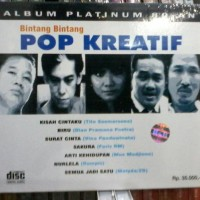 CD BINTANG BINTANG POP KREATIF - TITO SUMARSONO FARIZ RM