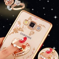 CASE FLOWERS DIAMOND SAMSUNG GALAXY J2 / J5 / J7 PRIME
