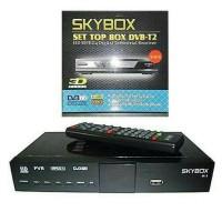 Jual SET TOP BOX SKYBOX GRATIS HDMI + Kabel Loop Out Murah