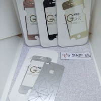 TEMPERED GLASS 3D FOR IPHONE 4G / 4S DIAMOND COLOR MIRROR (FRONT-BACK)