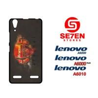 Casing HP Lenovo A6000, A6010, A6000 Plus Arsenal Wallpaper 33 Custom