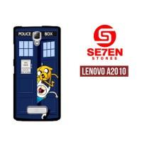 Casing HP Lenovo A2010 Adventure Time Jake Finn Custom Hardcase Cover