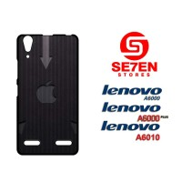 Casing HP Lenovo A6000, A6010, A6000 Plus Arrow gray Apple Logo Custom