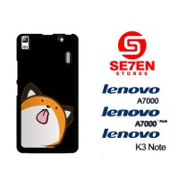 Casing HP Lenovo A7000, A7000 Plus, K3 Note background tongue Custom H