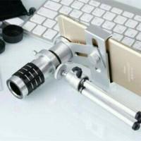 Jual Mobile Telephone/Telezoom Lens 12X + Tripod Dan Holder Murah