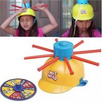 Wet Head Helmet Running Man Game Toys Prank Helmet