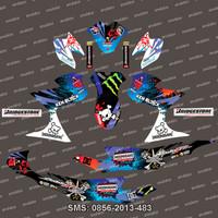 Stiker Stripng Suzuki-Satria-FU-Hoonigan-blue Spec A