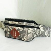 Tas selempang punggung pria Tas sling army waistbag backpack cowo