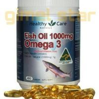Jual Fish Oil 1000 mg OMEGA 3 (Healthy Care) Murah