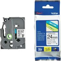 Brother Label Tape TZE-251 24mm Black On White TZe251 TZe 251 Label