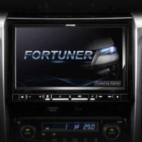 Alpine i109ED dan Frame Kit untuk Mobil Toyota Fortuner 2016-2017