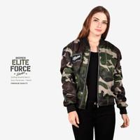 sweater jaket wanita bomber dark army elite force shooter EF-SH-WOMEN