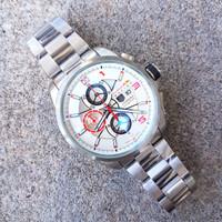 jam tangan pria merk TAG HEUER GRAND CARERA type 000 Batrai