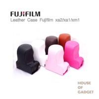 Jual Leather Case Bag Fujifilm X-A2 X-A1 X-M1 Hitam Murah